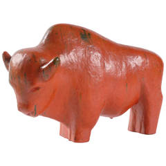 Midcentury Ruscha Large Bull, West Germany