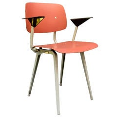 Pink Revolt Chair by Friso Kramer