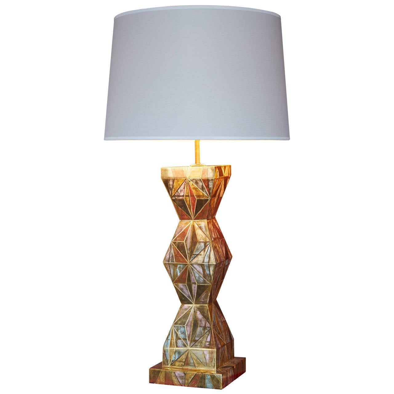 Pottery barn clift glass lamp ebay -  Pottery Barn Floor Lamps Ebay By Clift Glass Cylinder Table Lamp Base Espresso Best Inspiration