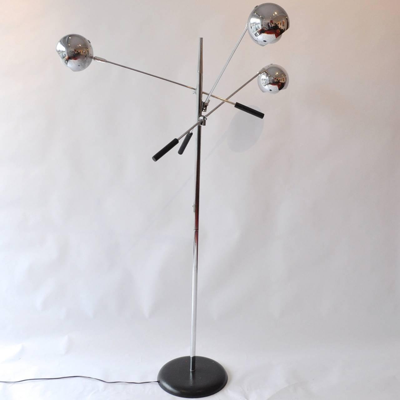Robert Sonneman Orbiter Floor Lamp at 1stdibs