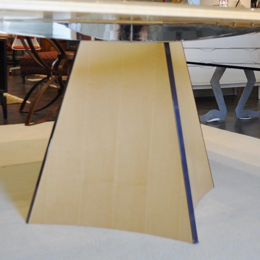 Senior and Carmichael Birdseye Maple Dining Table For Sale  : DSC2425 1 from www.1stdibs.com size 913 x 913 jpeg 89kB