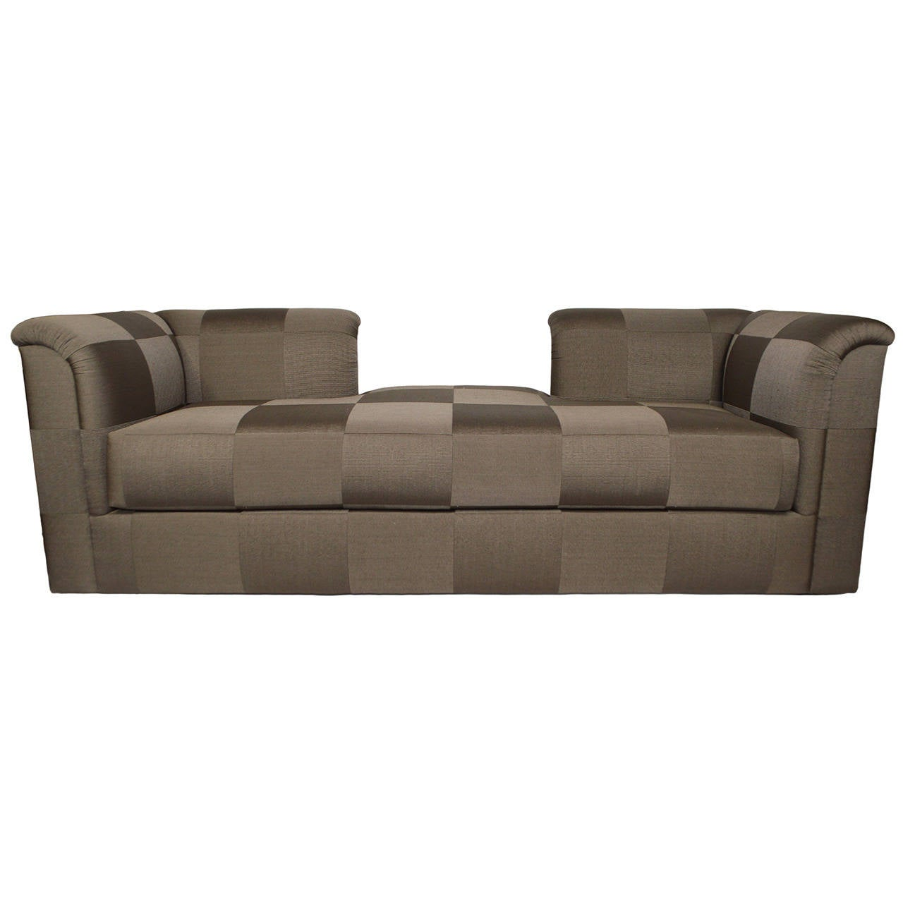 J Robert Scott French Line Tete A Tete Sofa For Sale At