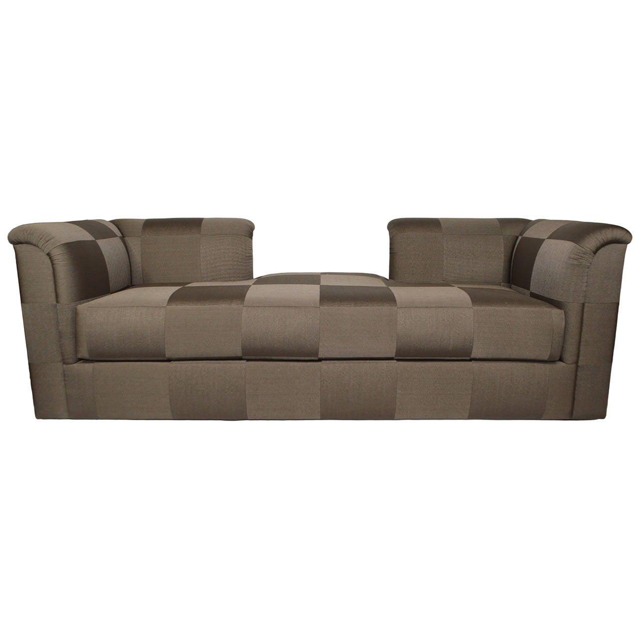 J Robert Scott French Line Tete A Tete Sofa At 1stdibs