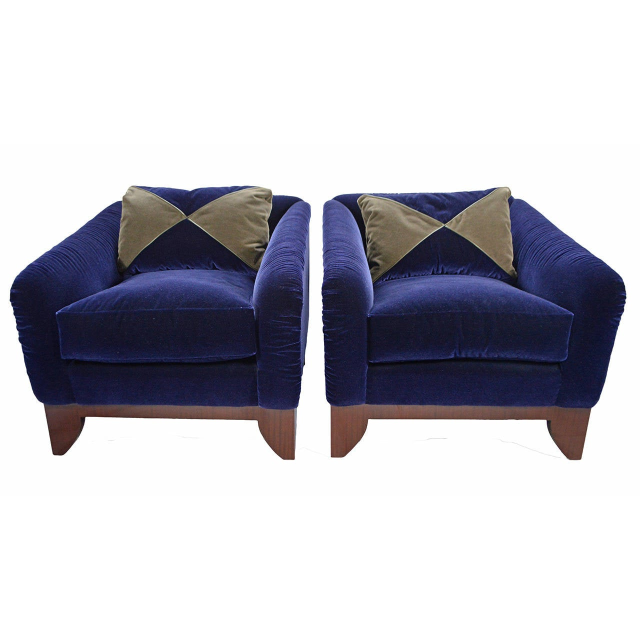 J Robert Scott Adriano Lounge Chairs For Sale At 1stdibs