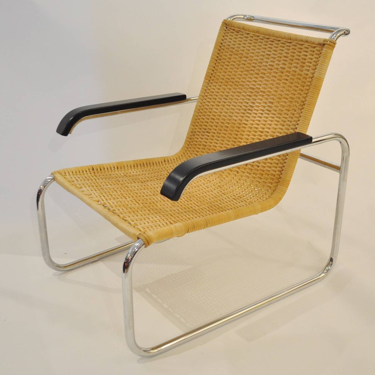 pair of marcel breuer b35 lounge chairs at 1stdibs. Black Bedroom Furniture Sets. Home Design Ideas
