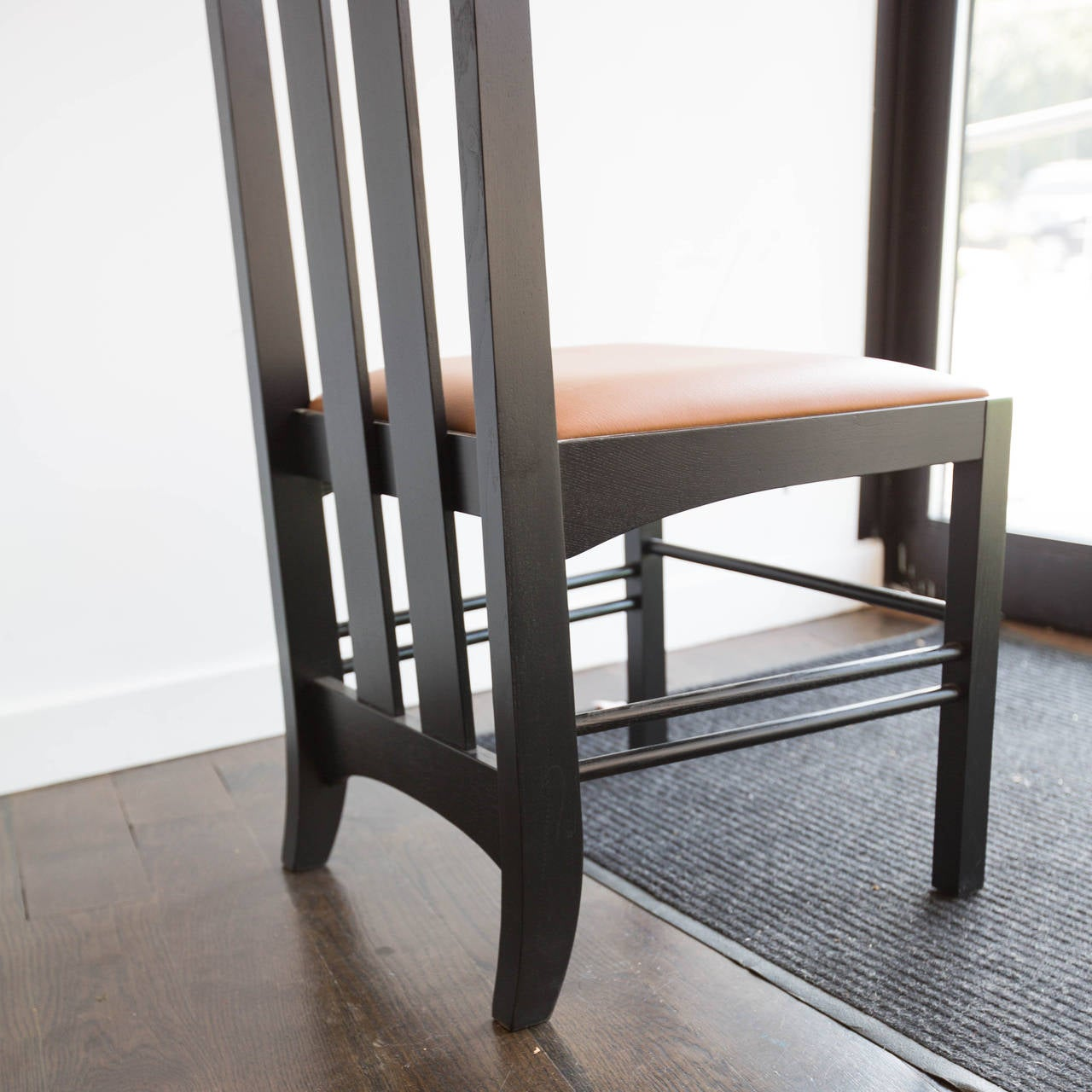 charles rennie mackintosh ingram chair by cassina at 1stdibs. Black Bedroom Furniture Sets. Home Design Ideas