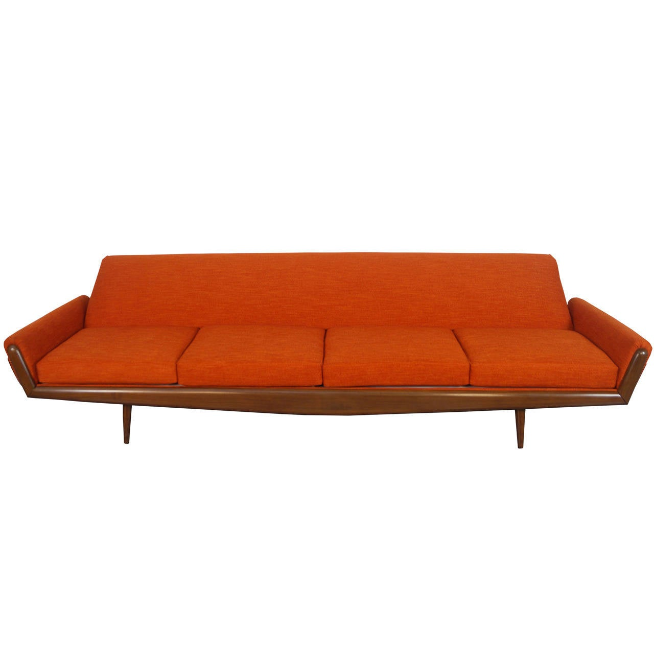Vintage Sofa By Adrian Pearsall For Craft Associates At 1stdibs