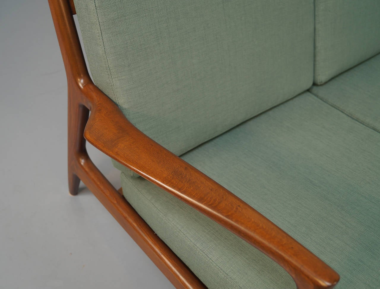 danish modern sofa by ib kofodlarsen at stdibs - danish modern sofa by ib kofodlarsen
