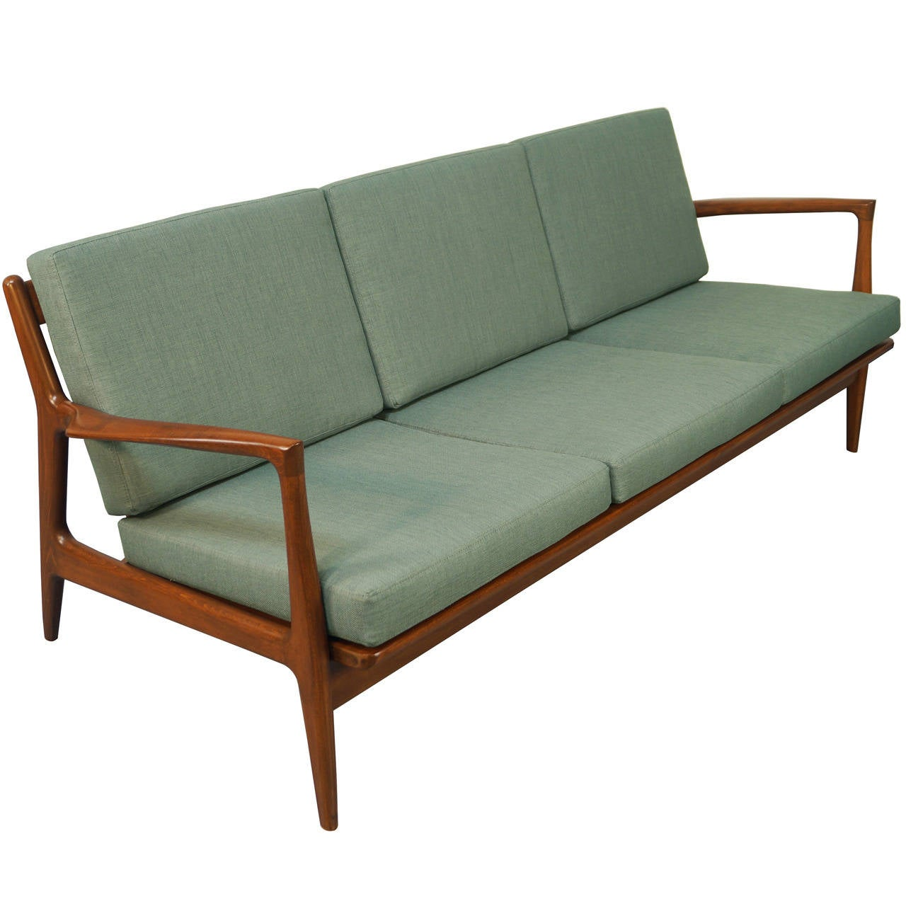 Danish modern sofa by ib kofod larsen at 1stdibs Danish modern furniture