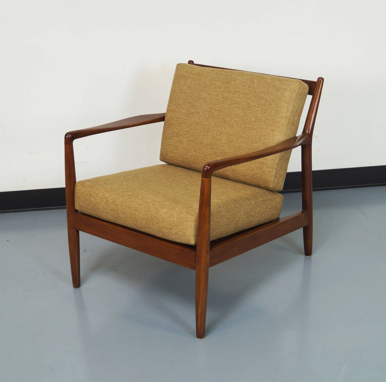 Mid Century Lounge Chairs by Folke Ohlsson at 1stdibs