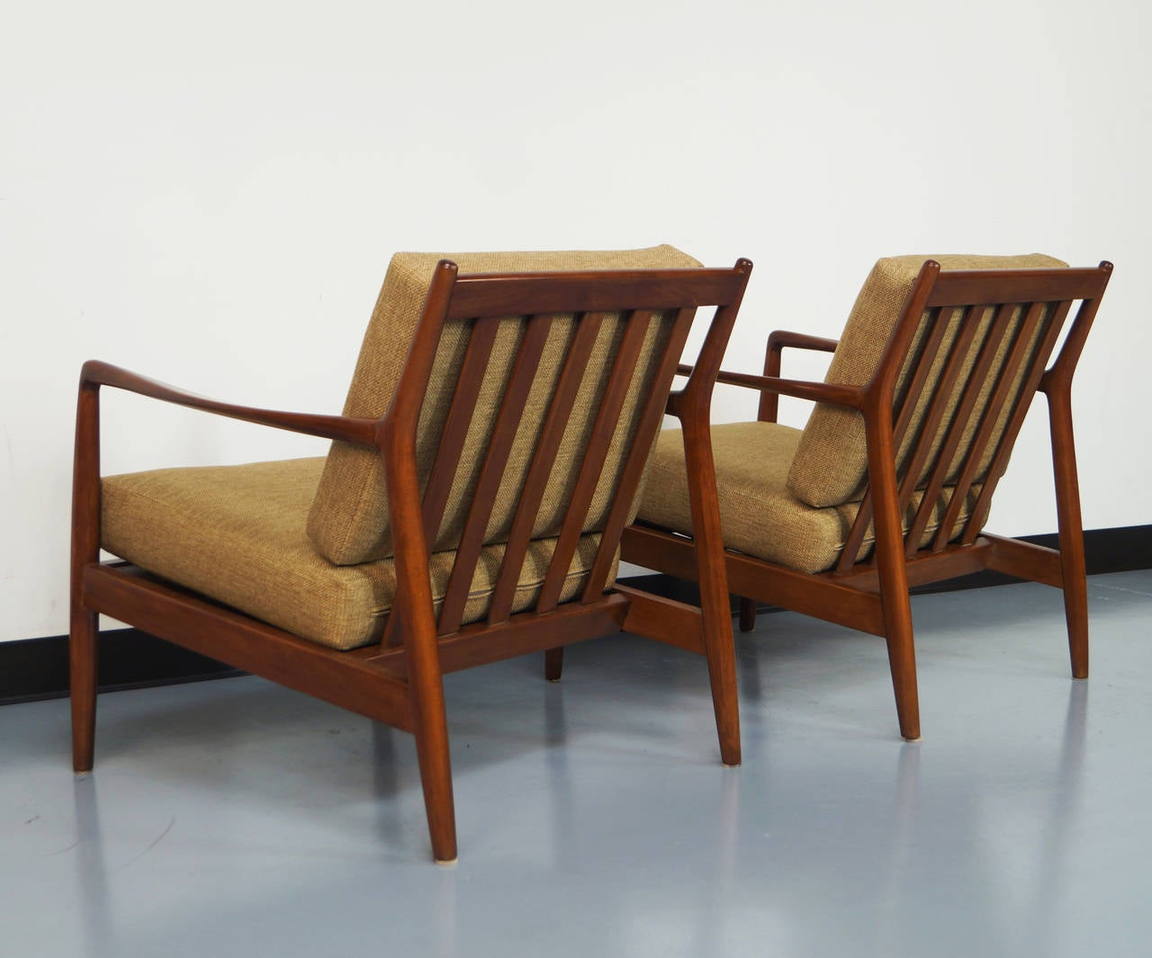 Mid Century Lounge Chair by Folke Ohlsson at 1stdibs