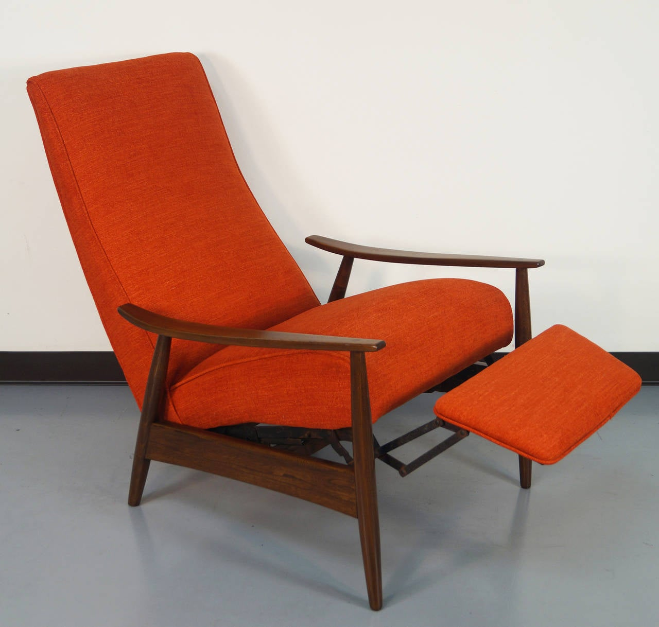 Vintage Reclining Lounge Chair by Milo Baughman 2 & Vintage Reclining Lounge Chair by Milo Baughman at 1stdibs islam-shia.org