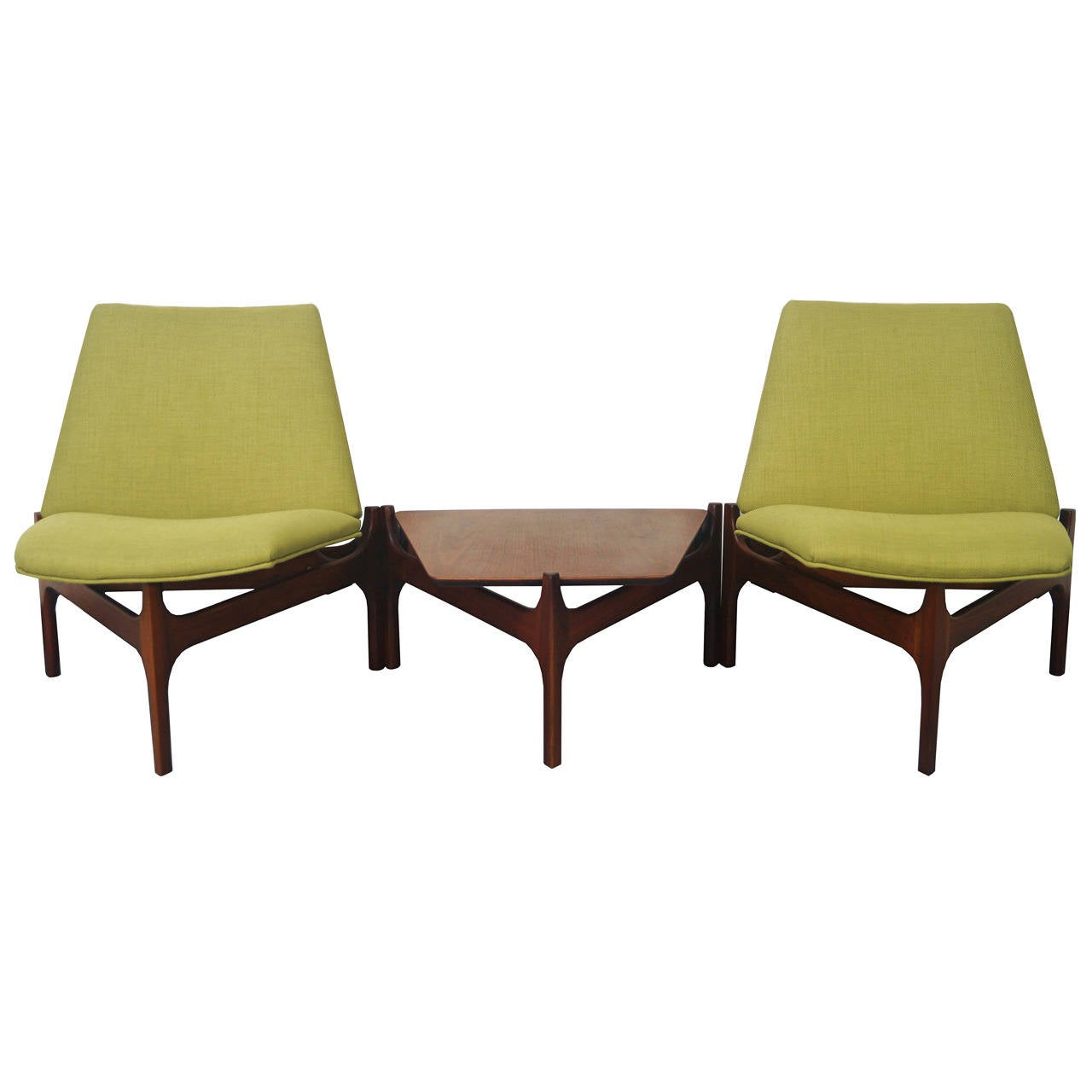 Vintage Seating Group by John Keal For Sale