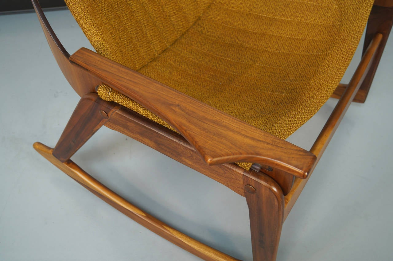 Sling Rocking Chair By Jerry Johnson At 1stdibs