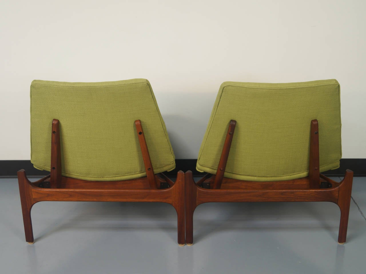 Fabric Vintage Seating Group by John Keal For Sale