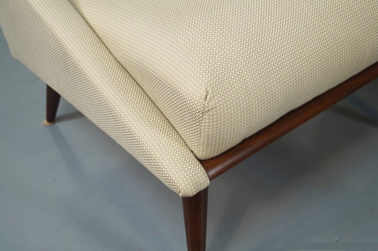 Kroehler Bedroom Furniture Vintage Slipper Chairs By Kroehler At 1stdibs