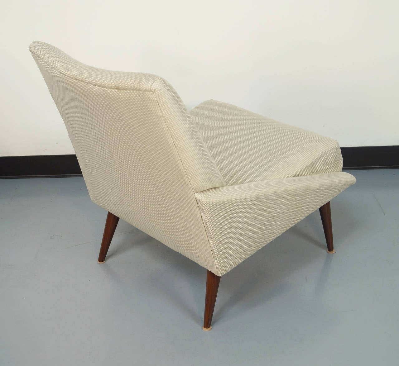 Vintage Slipper Chairs by Kroehler at 1stdibs
