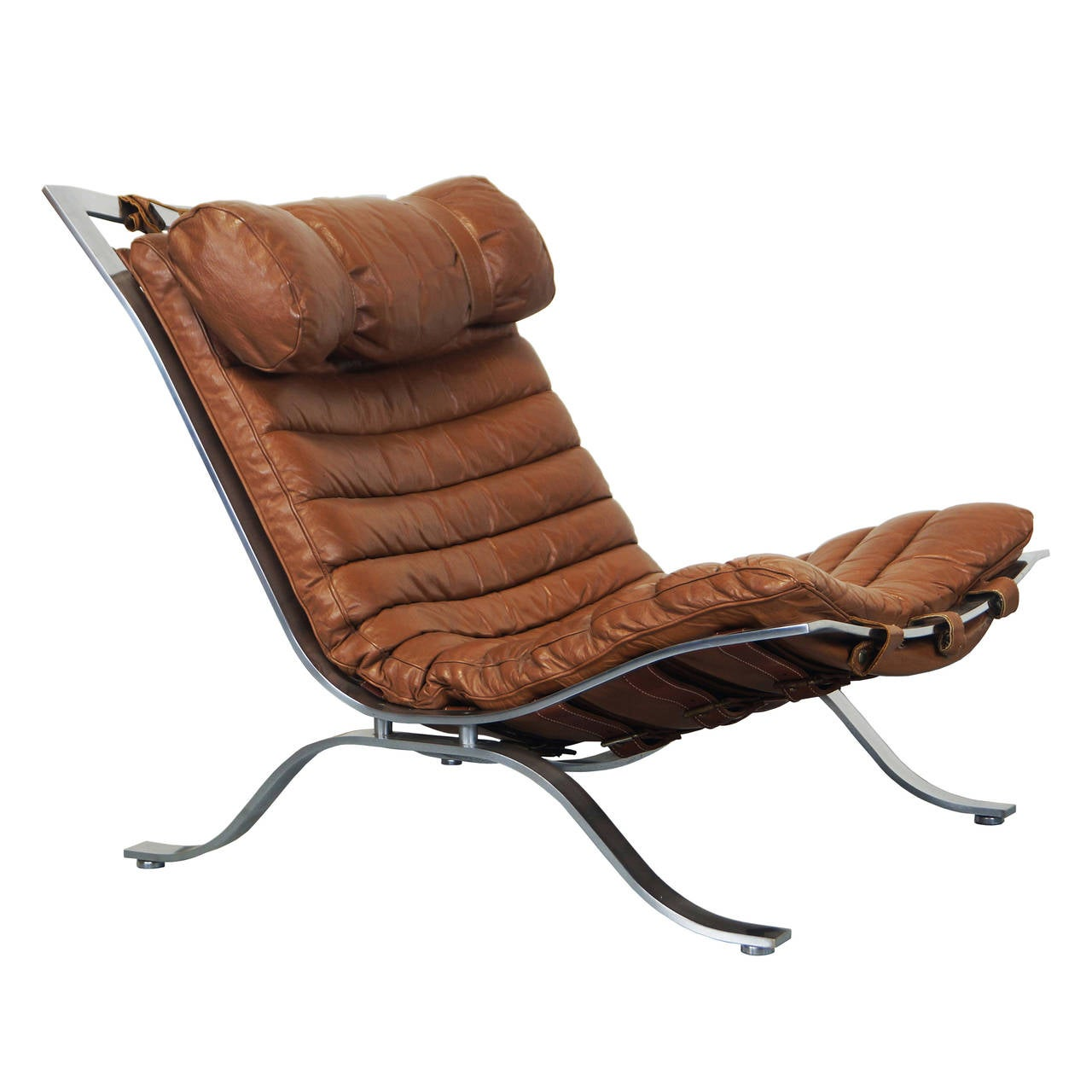 Quot Ari Quot Leather Lounge Chair By Arne Norell