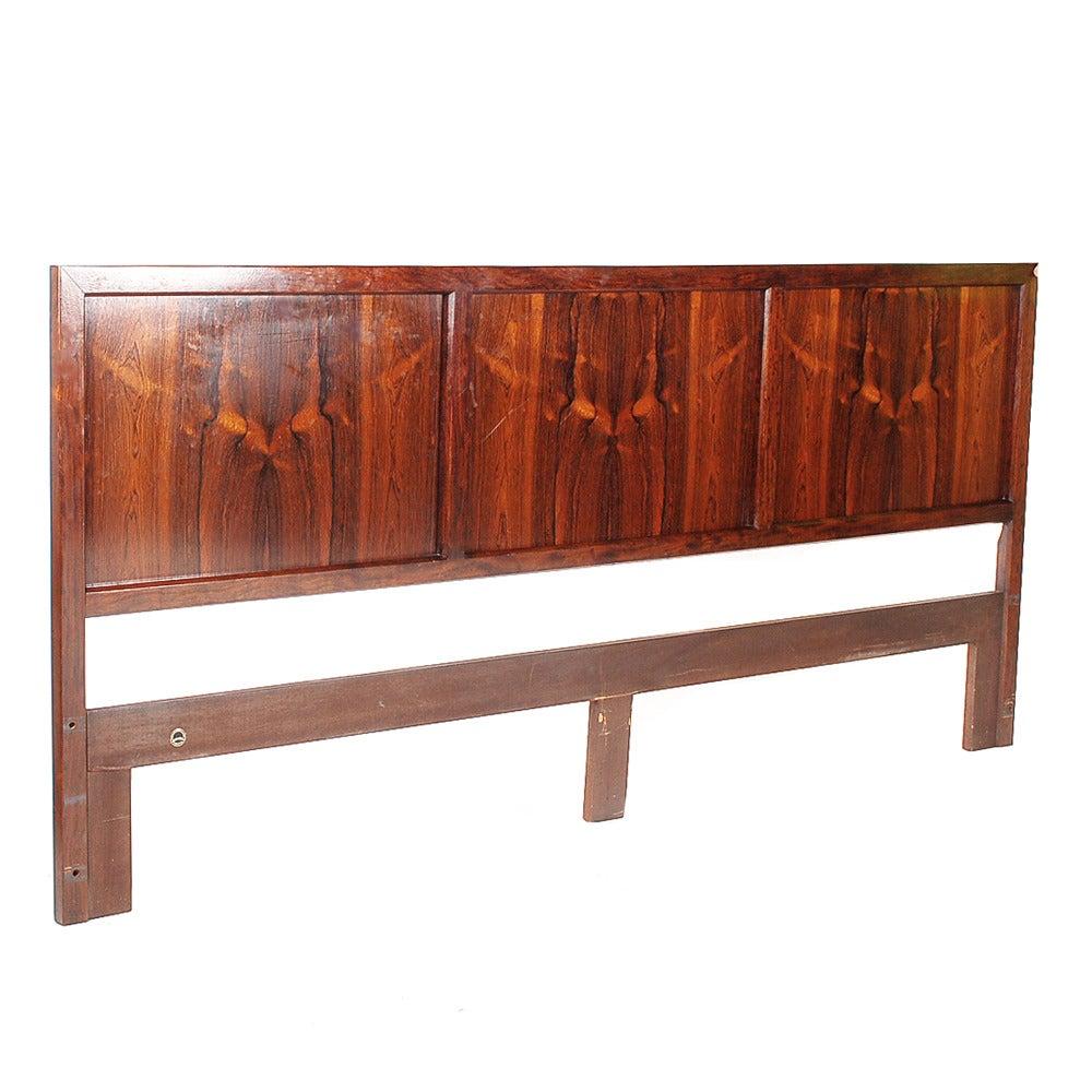mid century danish modern rosewood bedroom suite at 1stdibs