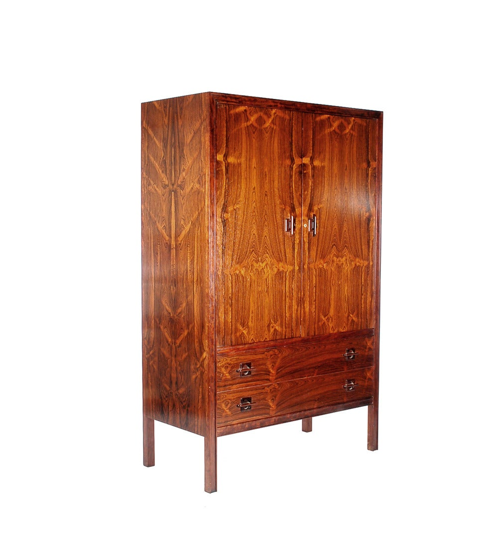 Mid Century Danish Modern Rosewood Bedroom Suite At 1stdibs