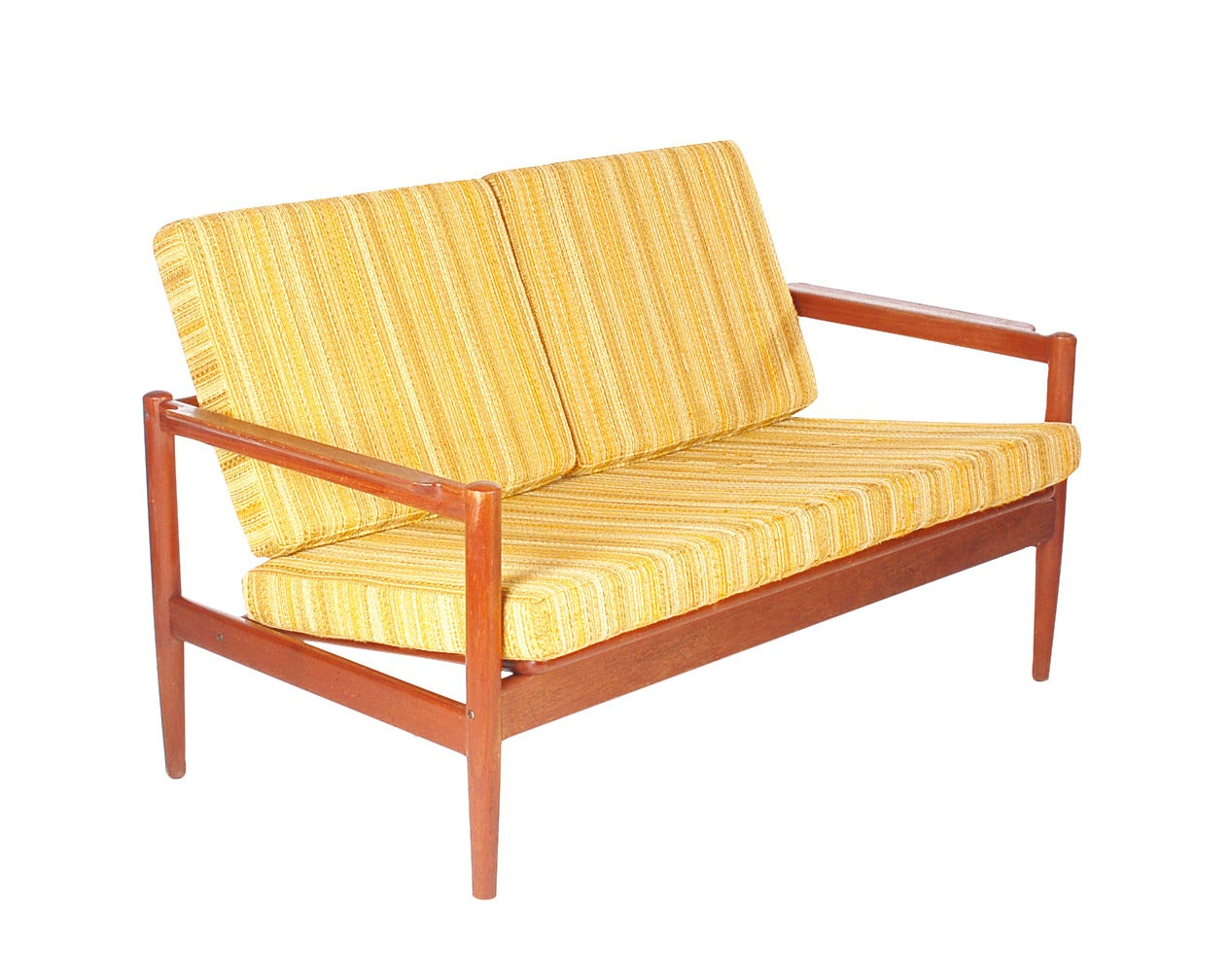 A Beautifully Designed And Crafted Sofa By Borge Jensen. It Features Solid  Teak Frame And. Mid Century Modern ...