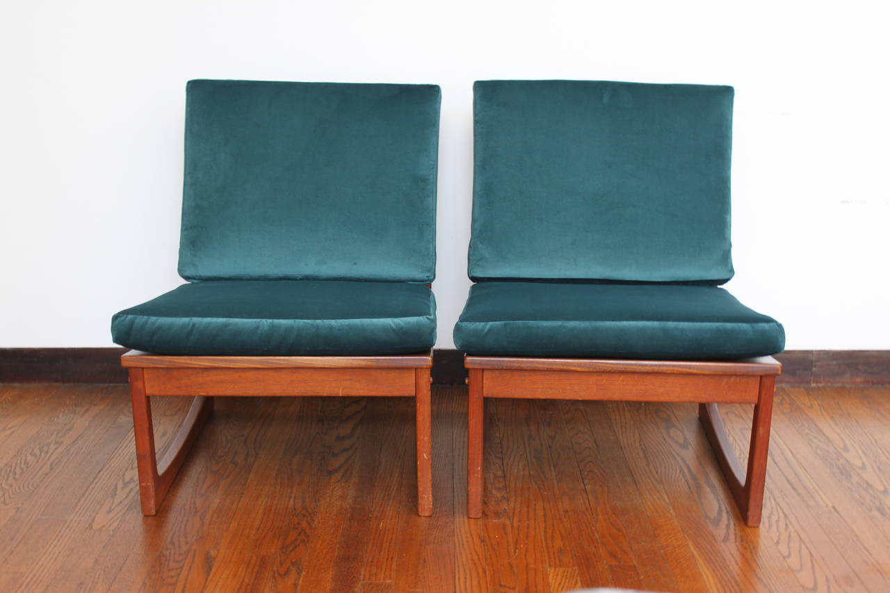 This Is A Gorgeous Pair Of Teak Lounge Chairs By Jacob Kjaer. Each Bears  The. Mid Century ...