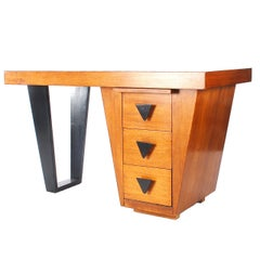 Mid-Century Modern Desk Attributed to Paul Laszlo for Brown Saltman