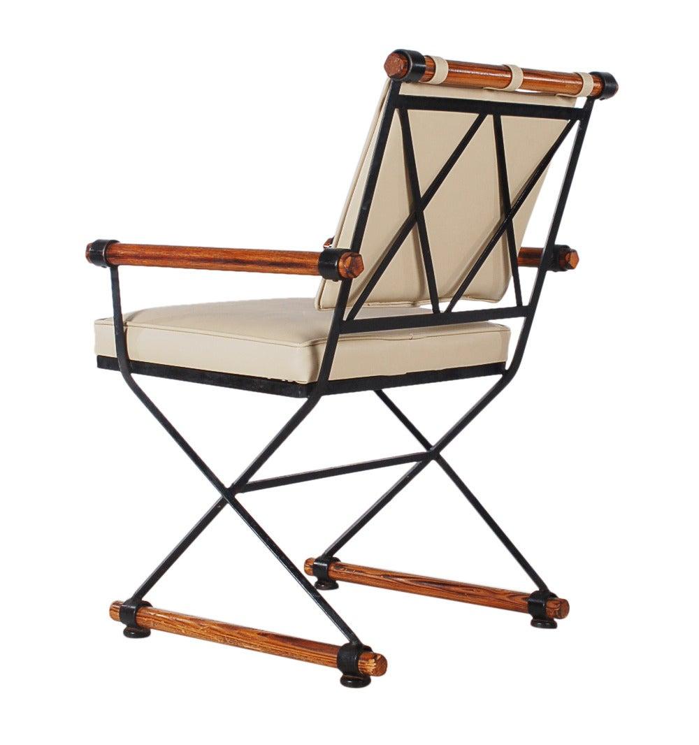 Cleo Baldon For Terra Furniture Wrought Iron Campaign