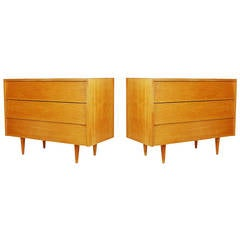 Florence Knoll for Knoll Associates, Three-Drawer Dressers