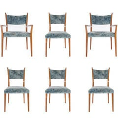 Paul McCobb for Calvin Mahogany Dining Chairs