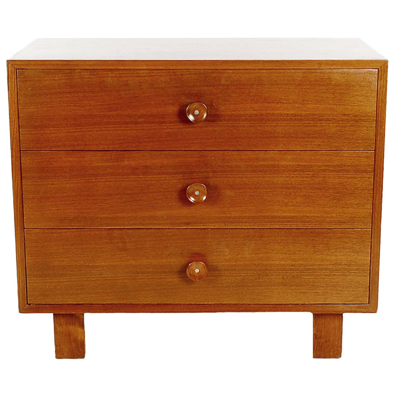 George Nelson for Herman Miller Chest of Drawers in Walnut