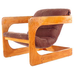 Mid-Century Lounge Chair by Lou Hodges