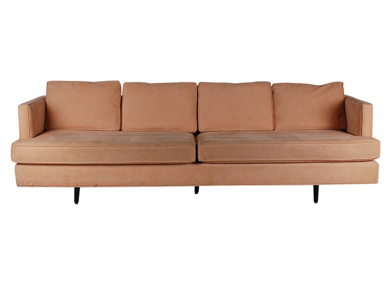 Mid century modern sofa after edward wormley for dunbar for Mid century modern sofa for sale