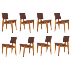 Set of Eight George Nelson for Herman Miller Dining Chairs
