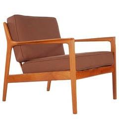 Danish Modern Lounge Chair by Folke Ohlsson for Dux