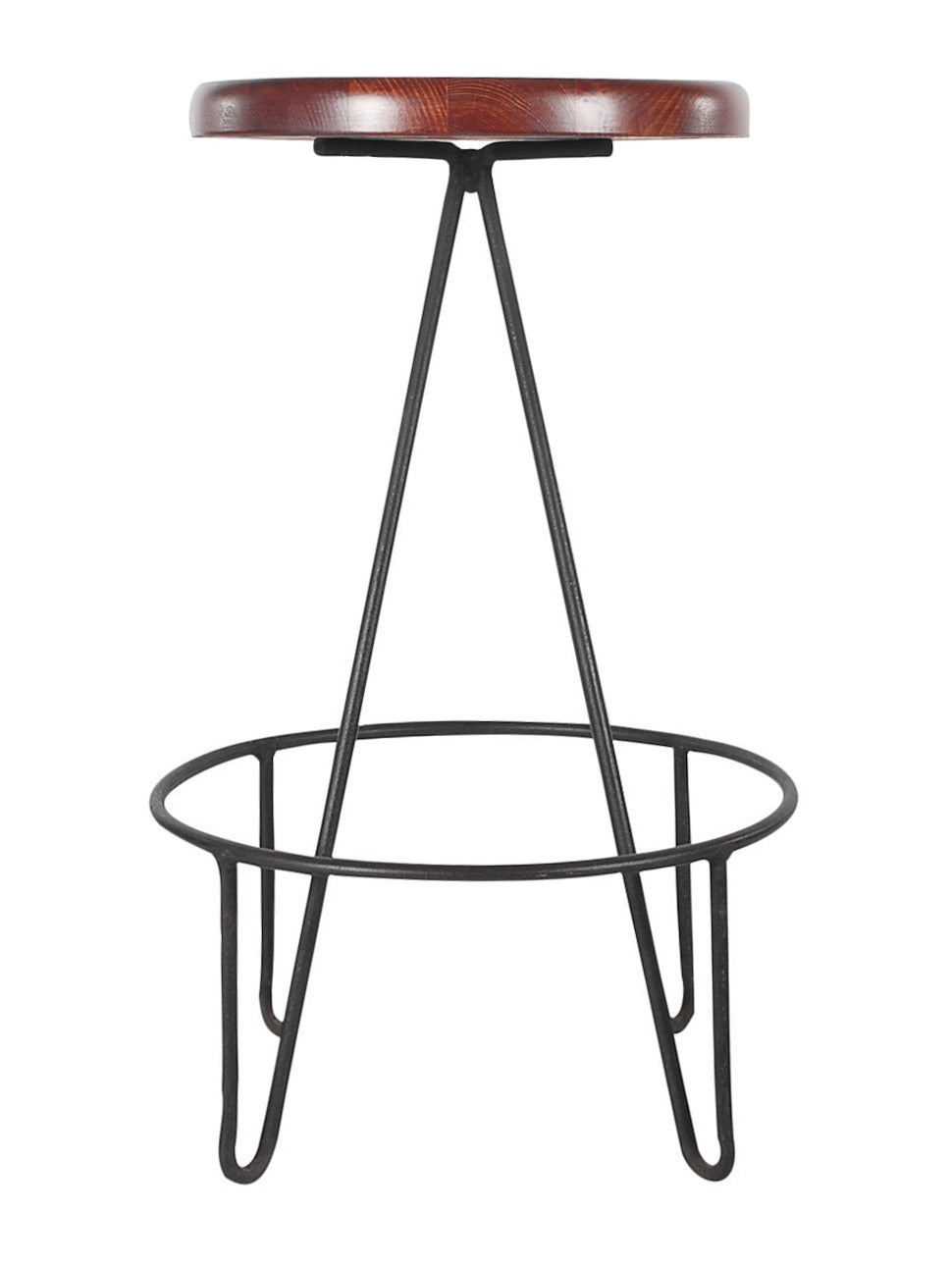 Frederick Weinberg Iron Hairpin Leg Bar Stools at 1stdibs : hw8526 1 from www.1stdibs.com size 970 x 1290 jpeg 56kB