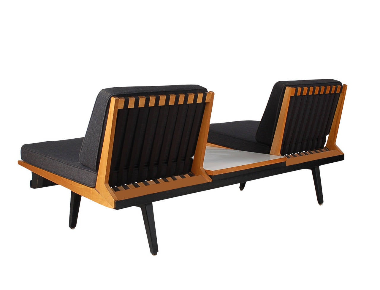 George nelson herman miller steel frame modular sofa and for Modular a frame