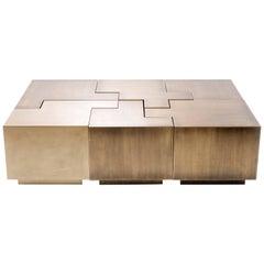 Contemporary Puzzle Coffee Table by Gulla Johnsdottir