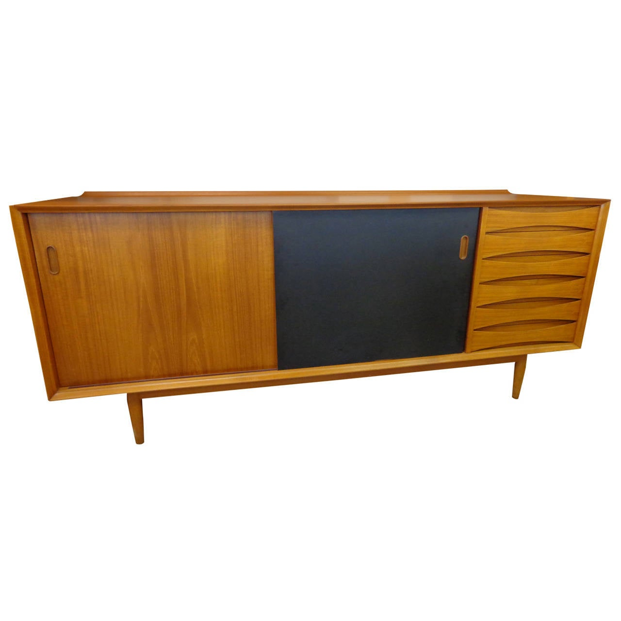 Arne Vodder Sideboard Or Credenza Manufactured By Sibast In Teak At . Full resolution  snapshot, nominally Width 1280 Height 1280 pixels, snapshot with #87460A.