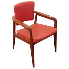 Teak Armchair by Sigvard Bernadotte, the Prince of Sweden