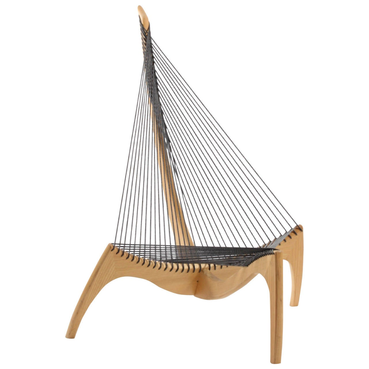 Harp Chair by Jorgen Hovelskov in Ashe 40th Anniversary Production