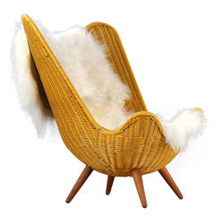 Rattan butterfly chair by Knud Vinther, Corollo.dk 3