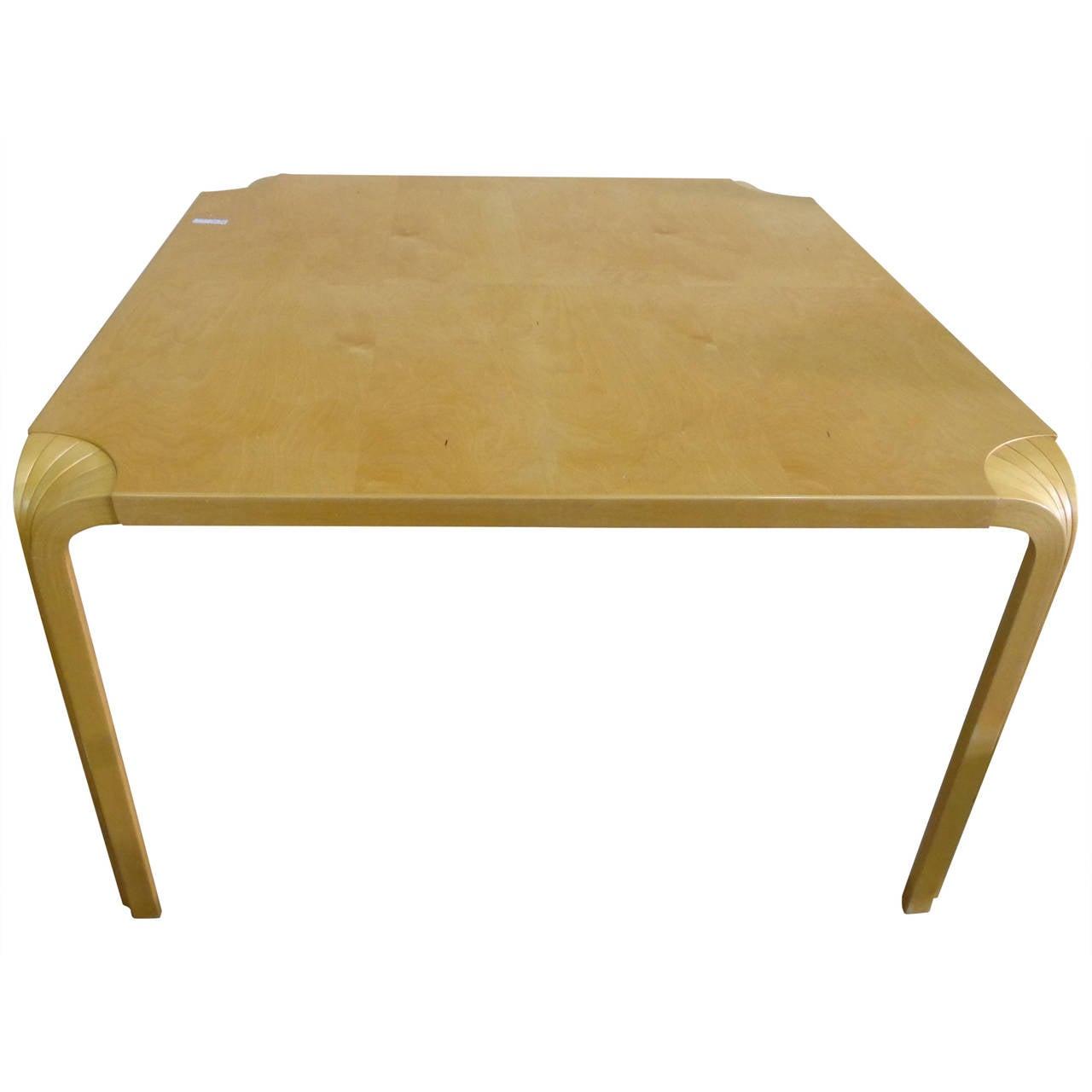 Lovely Alvar Aalto Fan Leg Coffee Table 1