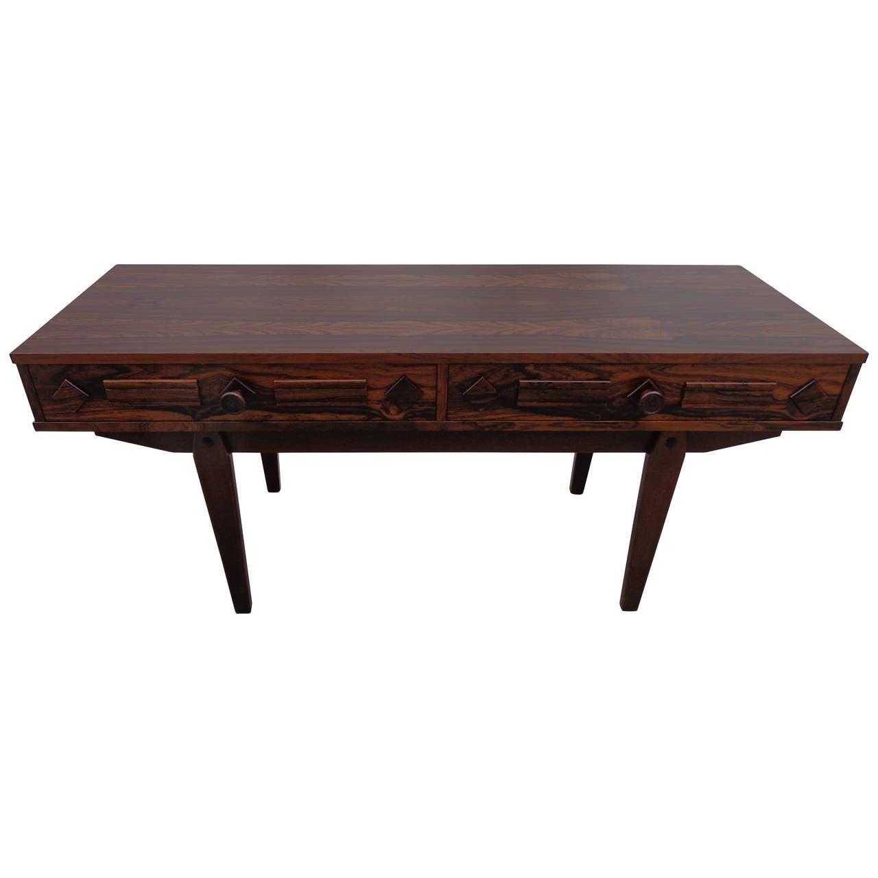 Scandinavian Rosewood Low Table