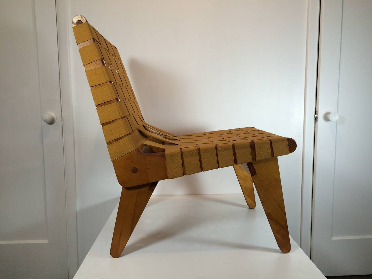 1949 Klaus Grabe Handmade Lounge Chair 4