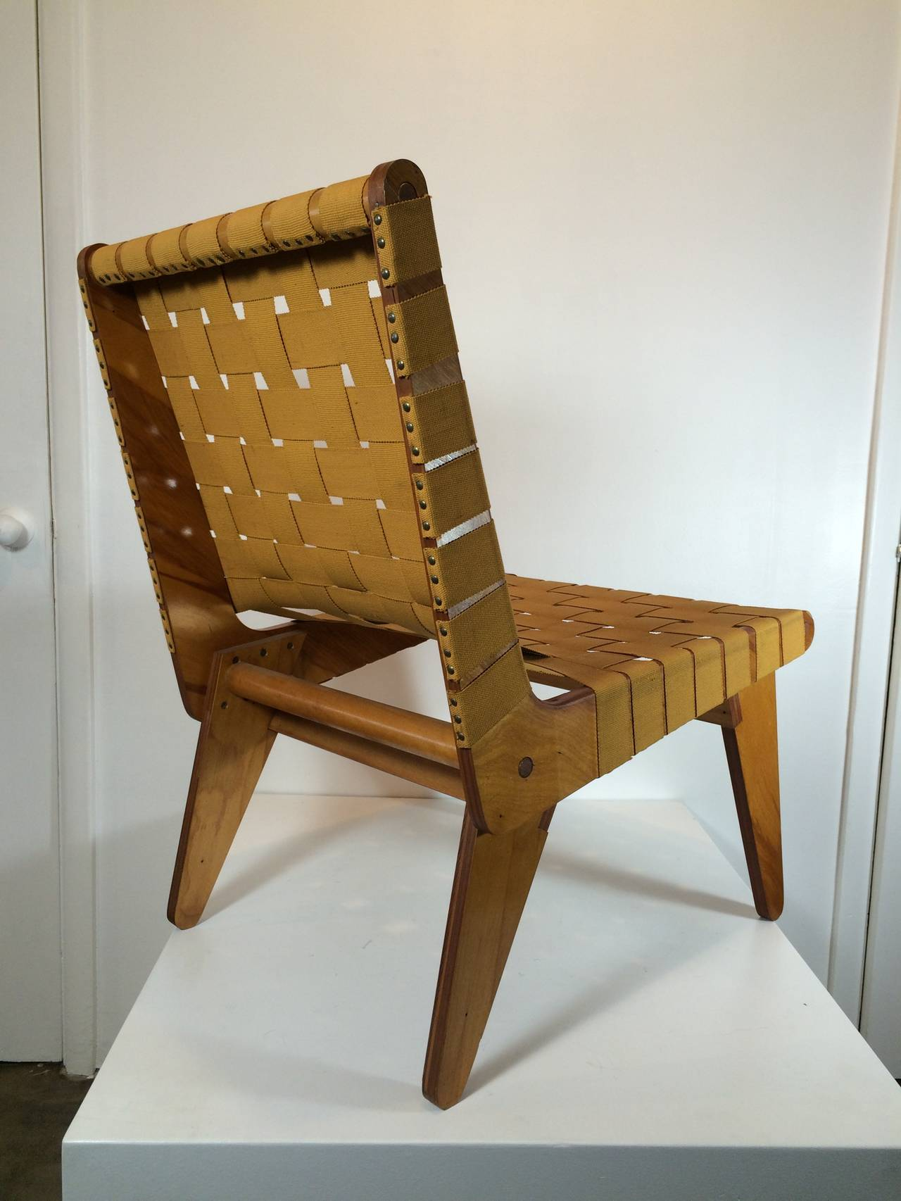 1949 Klaus Grabe Handmade Lounge Chair 3