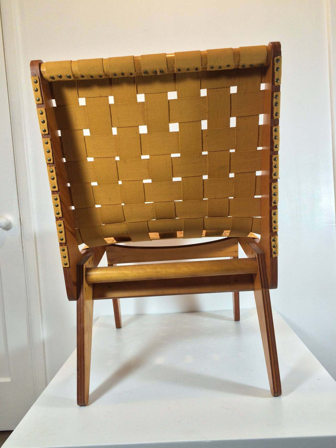 1949 Klaus Grabe Handmade Lounge Chair 5