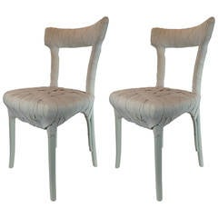 Pair of Mummy Chairs by Peter Traag for Edra