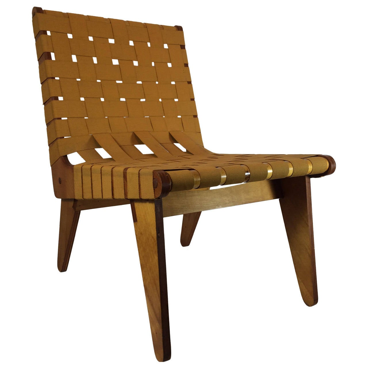 1949 Klaus Grabe Handmade Lounge Chair