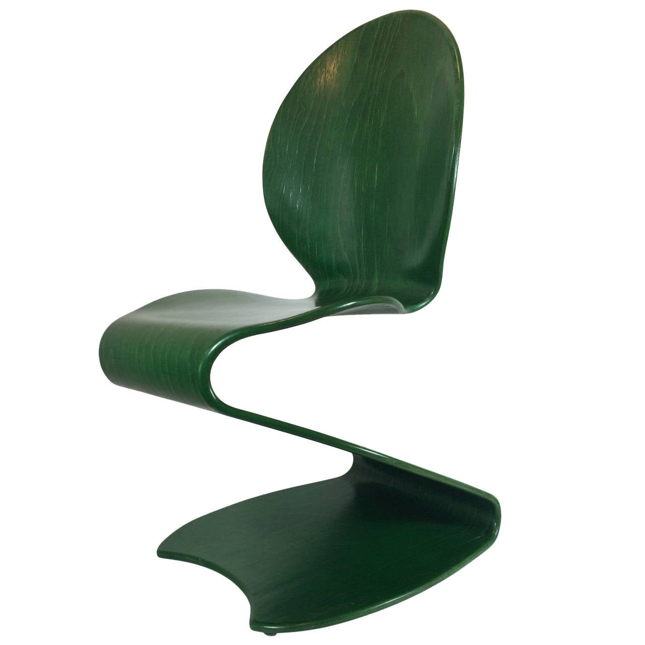 "1956 Verner Panton No. 276 ""S"" Chair Distributed by Thonet For Sale"
